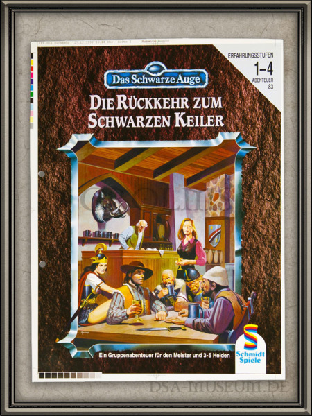 DSA_Schwarze_Auge_Museum_Druckfahne_Korrekturabzug_Rückkehr_zum_schwarzen_Keiler_Schmidt_Vorab-Cover