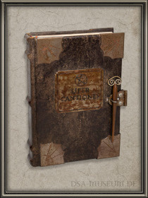 DSA_Schwarze_Auge_Museum_Limitiert_Liber_Cantiones_Crafted_Collectibles_Prototyp
