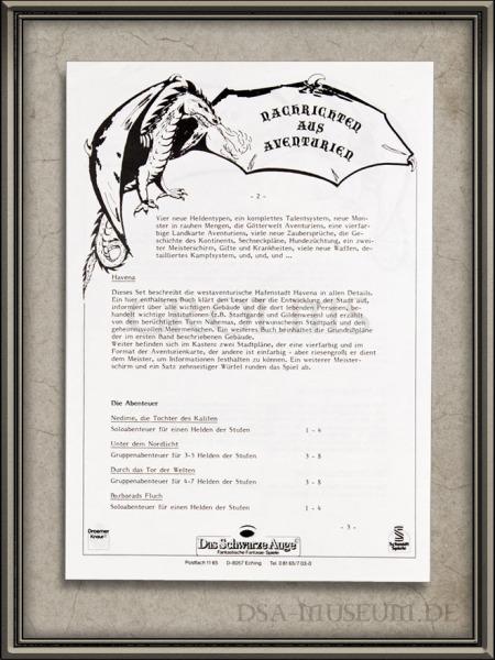 DSA_Schwarze_Auge_Museum_Nachrichten_Aventurien_1986_S2