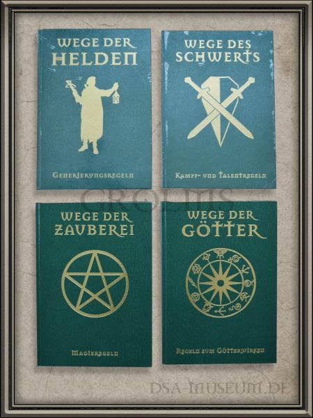 DSA_Schwarze_Auge_Museum_grüne_Wege_Bände