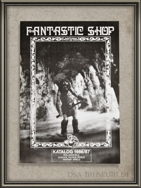 DSA_Schwarze_Auge_Museum_selten_Fantastic_Shop_Katalog_1986_1987