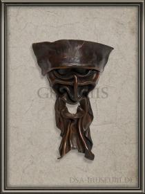 DSA_Schwarze_Auge_Museum_selten_Maske_des_Meisters_Prototyp