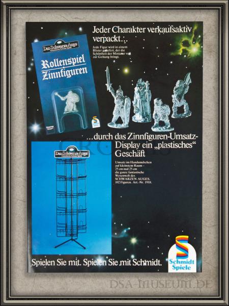 DSA_Schwarze_Auge_Museum_selten_Schmidt_Zinnfiguren_Katalog_Prospekt_H