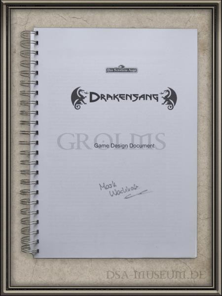 Drakensang: Game Design Document Cover