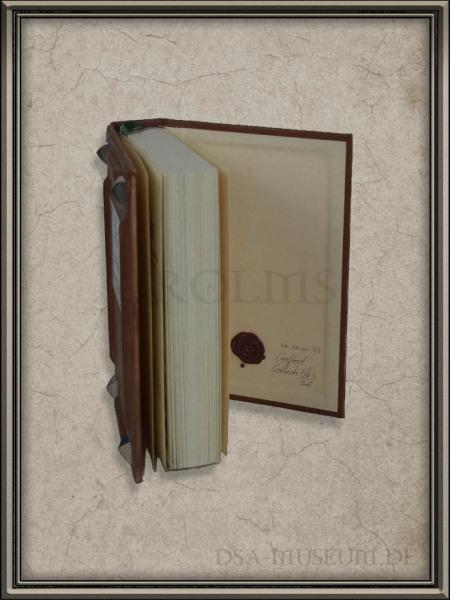 """Liber Cantiones: Crafted Collectibles-Edition """"Die Edle"""" – Siegel im hinteren Buchdeckel"""
