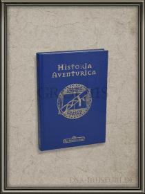Historia Aventurica in blau: Herstellungsfehler-Ausgabe