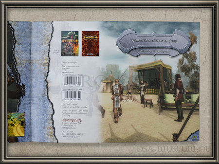 Drakensang Presskit Händler-Broschüre Seite ohne CD
