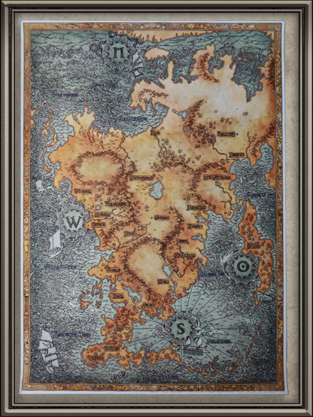DSA5 Aventurien Ingame Karte: Nordcon-Auflage
