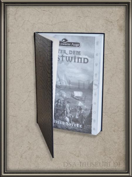 Unter dem Westwind: Limitiertes Earthdawn-Spielerhandbuch-Probedruck Innenansicht