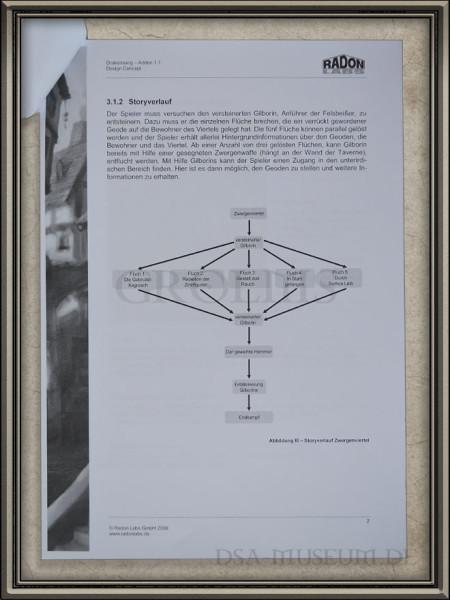 Design Concept Drakensang Addon 1.1 – Die Verschwörung der Alttreuen Storyverlauf