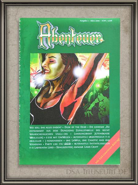 Das Sieger-Abenteuer des Wettbewerbs Auf Aves Spuren I hieß Reise mit Umwegen und wurde im Fantasy-Magazin Abenteuer veröffentlicht