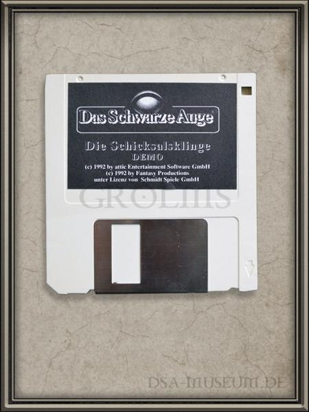 Die Schicksalsklinge Demo-Diskette (Demo zum ersten Teil der Nordlandtrilogie)