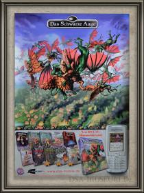 Chromatrix-Werbeposter zum Jahr des Feuers-Nebenlinien Abenteuer Himmelsbrand