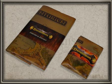 Drakensang Individual Edition (Limited Collectors Edition Sonderausgabe) - Aventurien-Karte