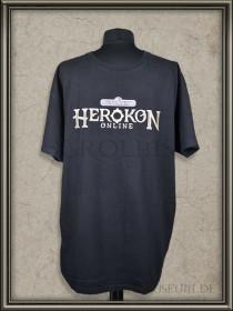 Herokon Online Promo T-Shirt für die Gamescom 2012 Messe: Vorderseite