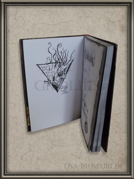 Call of Cthulhu | Spieler-Handbuch Pegasus Spiele Verlagsausgabe Francois Launet Zeichnung