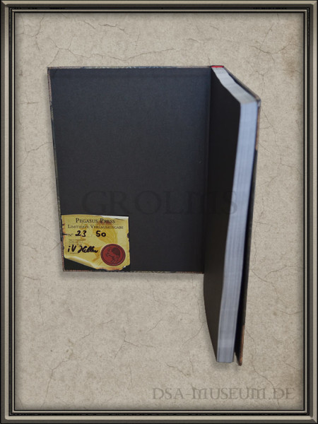 Call of Cthulhu | Spieler-Handbuch Pegasus Spiele Verlagsausgabe Plakette