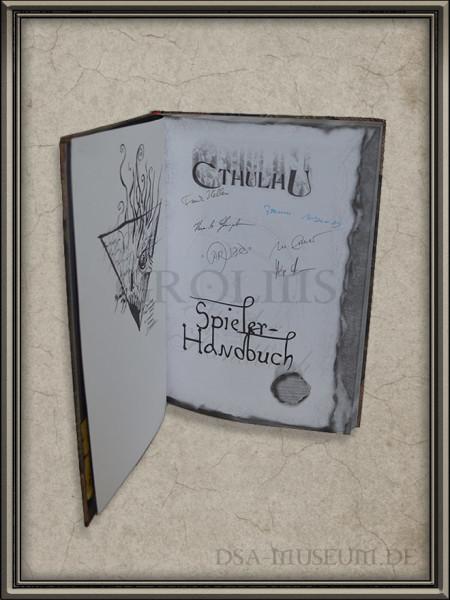 Call of Cthulhu | Spieler-Handbuch Pegasus Spiele Verlagsausgabe Signaturen