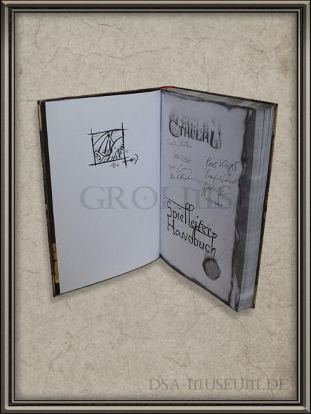 Call of Cthulhu | Spielleiter-Handbuch Pegasus Spiele Verlagsausgabe Francois Launet Zeichnung
