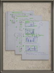 Drakensang Storyboards Sammlung