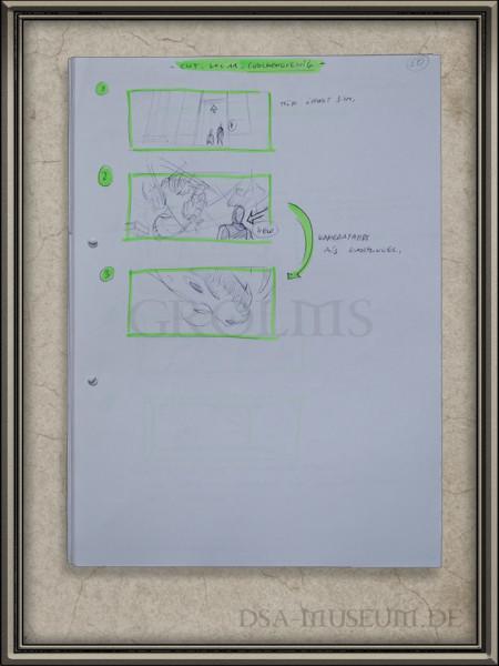 Drakensang Storyboards Beispielseite Grolmenkönig (2)