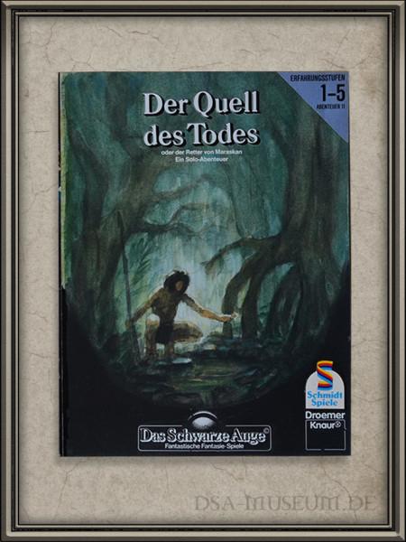 """DSA-Abenteuer Cover Entwurf """"Der-Quell-des-Todes"""""""