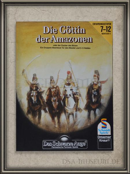 """DSA-Abenteuer Cover Entwurf """"Die Göttin der Amazonen"""""""