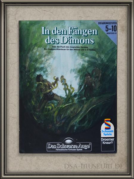 """DSA-Abenteuer Cover Entwurf """"In den Fängen des Dämons"""""""
