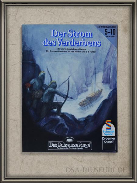 """DSA-Abenteuer Cover Entwurf """"Der Strom des Verderbens"""""""