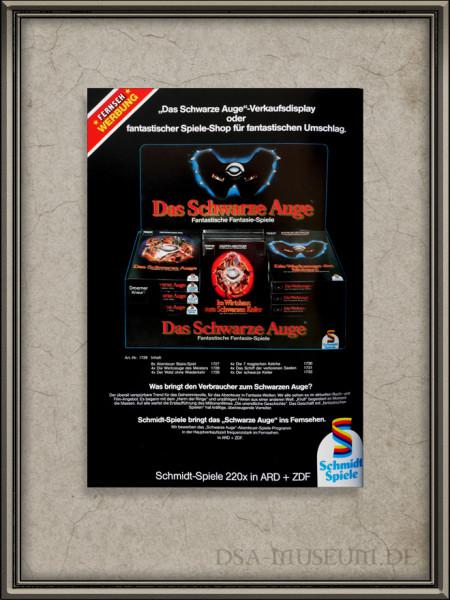 Werbung aus dem Schmidt Spiele Katalog von 1984 Rückseite