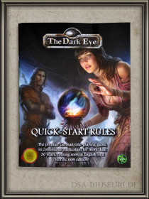 Free RPG-Day 2016 The Dark Eye Schnellstartregeln Front Cover
