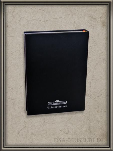 DSA5 Grundregelwerk – schwarze Echtleder Mitarbeiterausgabe Rückseite
