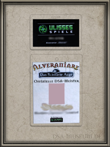 Alveraniare Ausweiskarte