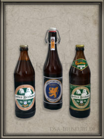 DSA Computerspiele Promo Bierflaschen