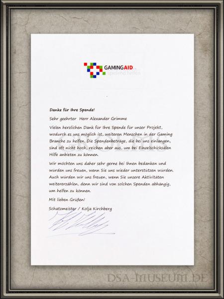 DSA_Schwarze_Auge_Museum_Deadlic_Memoria_Charity_Edition_Schreiben