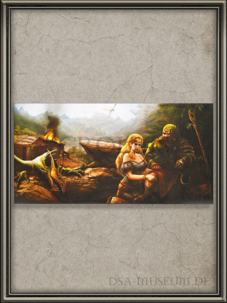 DSA_Schwarze_Auge_Museum_Herokon_Leinwand_Kunstdruck_Melanie_Meier_Wiki