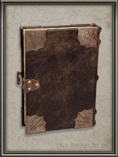 DSA_Schwarze_Auge_Museum_Limitiert_Liber_Cantiones_Crafted_Collectibles_Prototyp_H