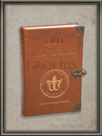 DSA_Schwarze_Auge_Museum_Limitiert_Liber_Cantiones_Leder-Edel-Edition_2