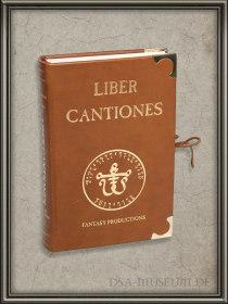 DSA_Schwarze_Auge_Museum_Limitiert_Liber_Cantiones_Leder-Edition