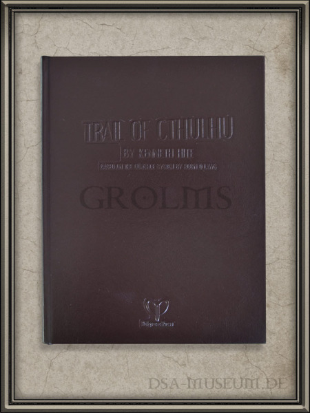DSA_Schwarze_Auge_Museum_Trail_Cthulhu_Leatherbound_Limited