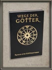 DSA_Schwarze_Auge_Museum_Wege_der_Götter_schwarze_Verlagsausgabe_Limitiert