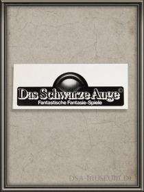 DSA_Schwarze_Auge_Museum_selten_DSA1_Promo_Aufkleber
