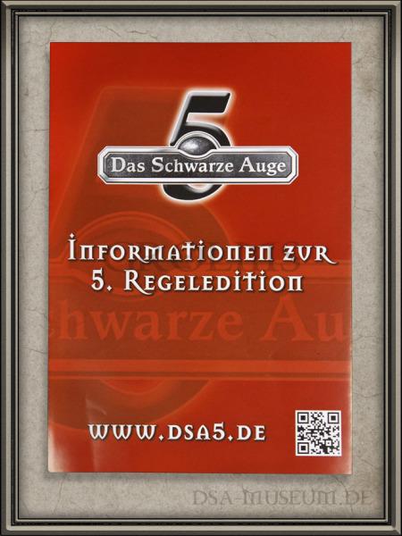 DSA_Schwarze_Auge_Museum_selten_DSA5_Flyer_Falschdruck