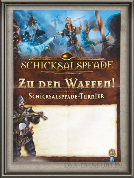 DSA_Schwarze_Auge_Museum_selten_Schicksalspfade_Turnier_Händler_Poster