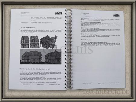 Drakensang: Game Design Document Beispiel Innenseite 2