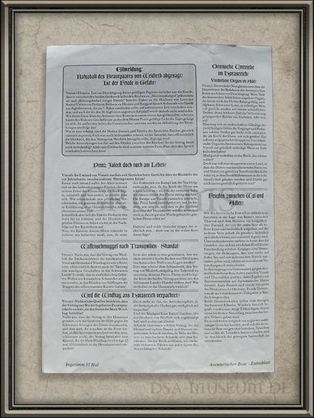 Aventurischer Bote Sonderausgabe zum Allaventurischen Konvent 2002 Rückseite
