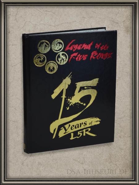 L5R   Limited Contributor's Edition (Emperor Mon) Cover
