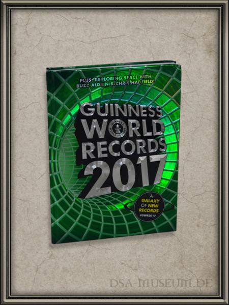 Guinness Buch 2017 mit dem DSA-Weltrekord