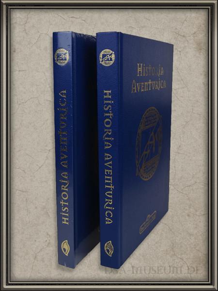 Historia Aventurica: Vergleich der unterschiedlichen blauen Versionen