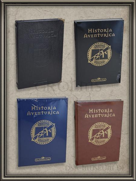 Historia Aventurica: Galerie der verschiedenen Editionen